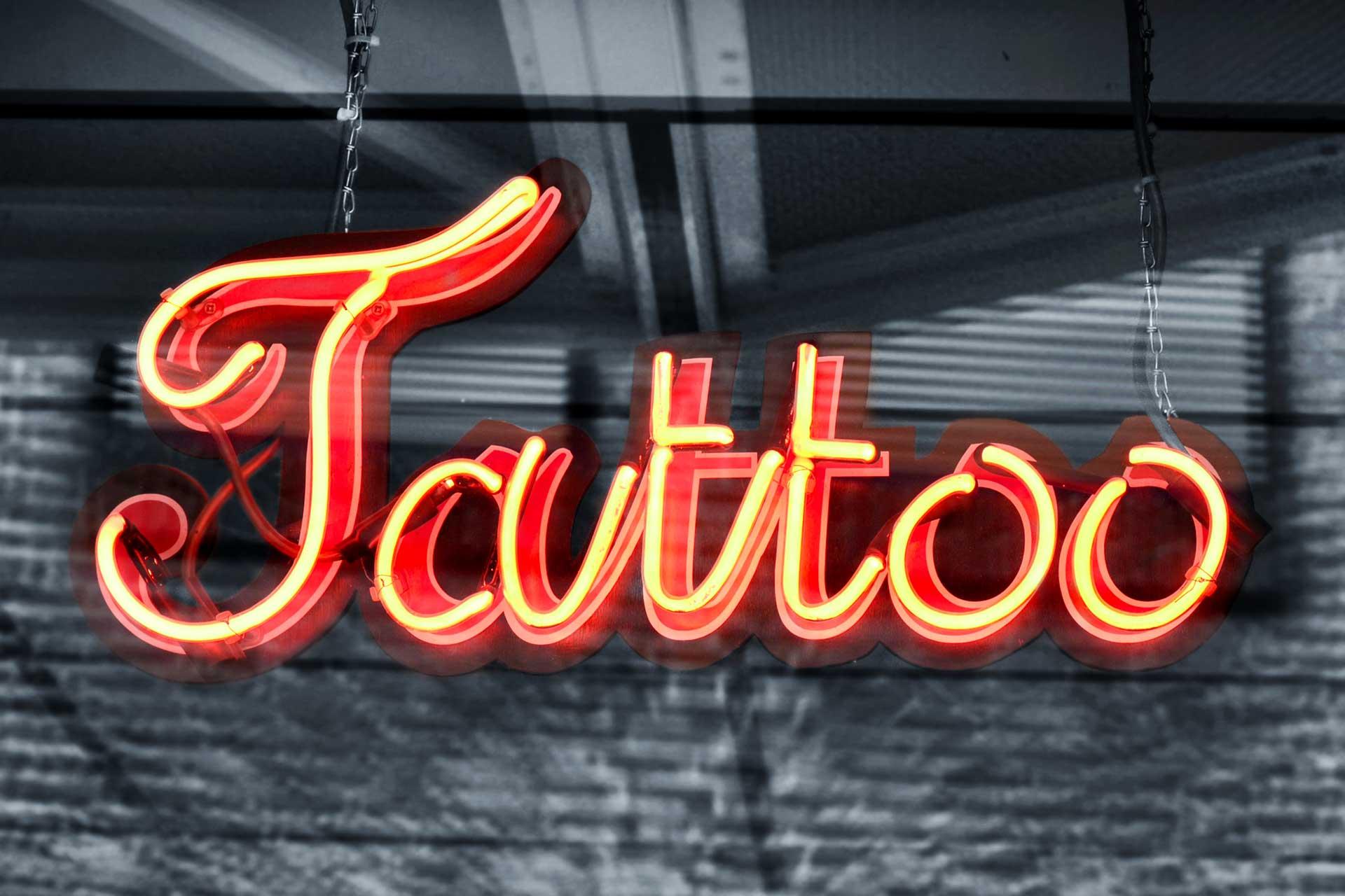 Tattooversicherung - Studio