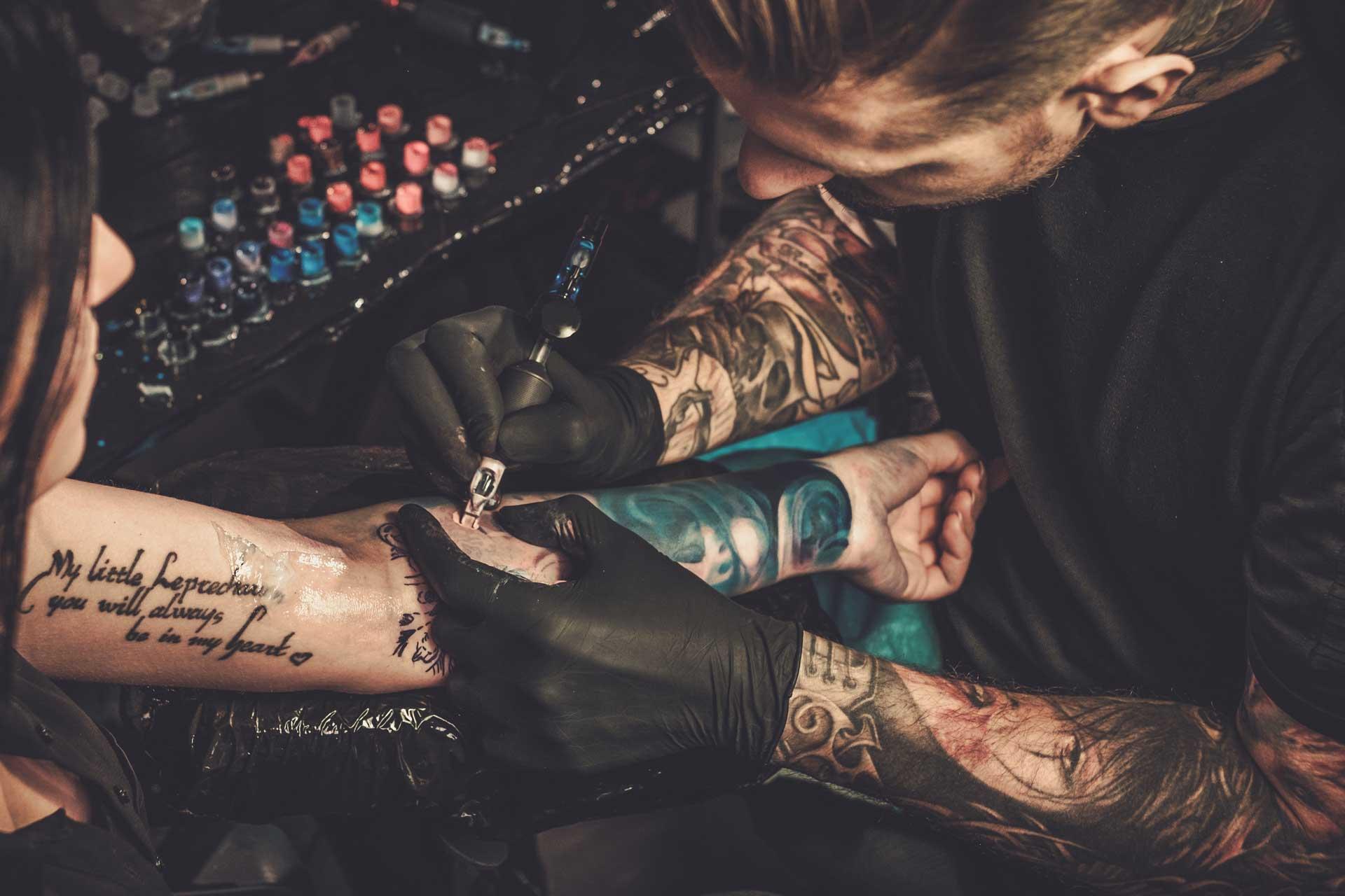 Tattooversicherung - Risiko