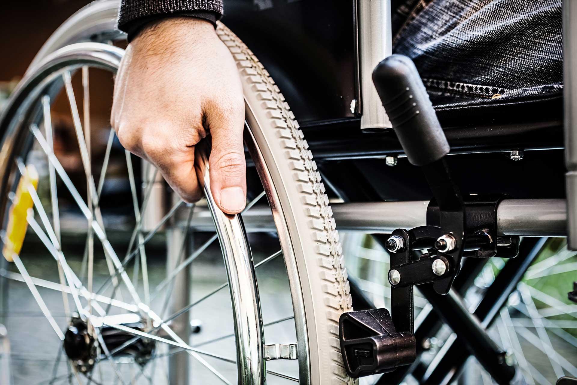 Berufsunfähigkeitsversicherung - Rollstuhl